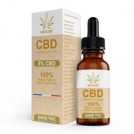 CBD 5% Full Spectrum Oil - NEROBI - 10ml
