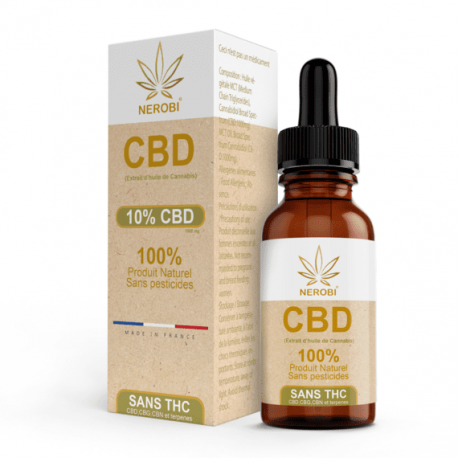 CBD Oil 10% Full Spectrum - NEROBI - 10ml