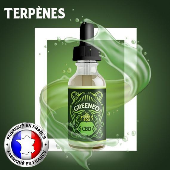 Greeneo E-Liquid CBD OG Kush - 10ml