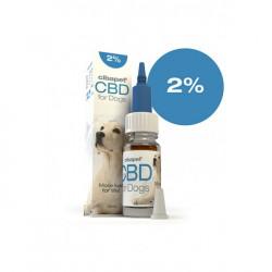 CBD-Öl für Hunde 2%.